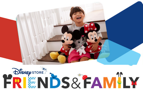 Disney Friends and Family Sale