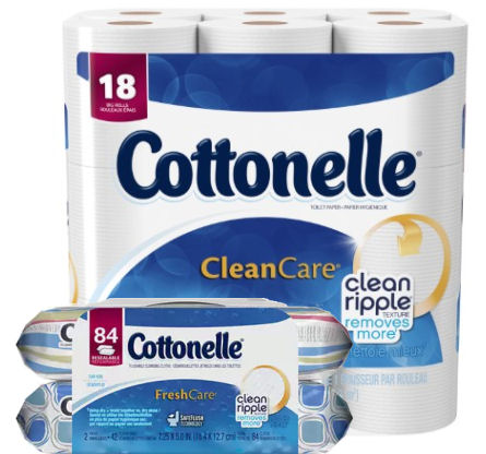 cottonelle and 84ct refill