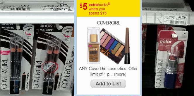 CoverGirl Cosmetics deals