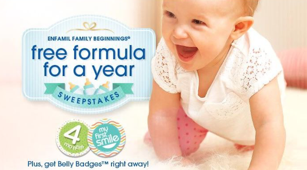 Enfamil Sweepstakes and free gifts