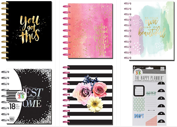 happy planner sale at zulily