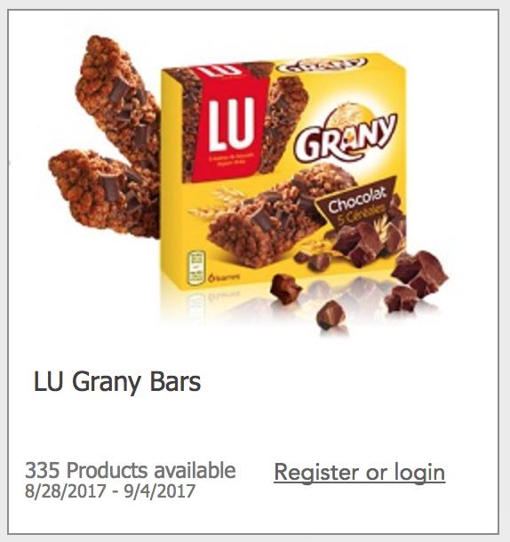 Free Granola Bars