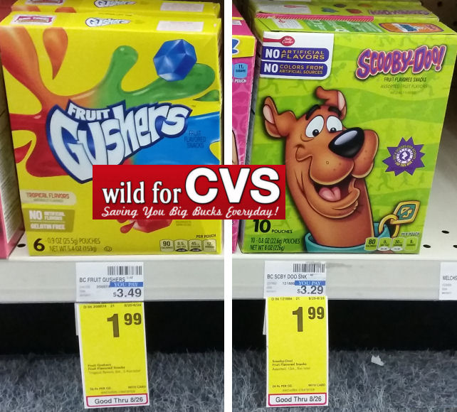 betty crocker fruit snacks deal