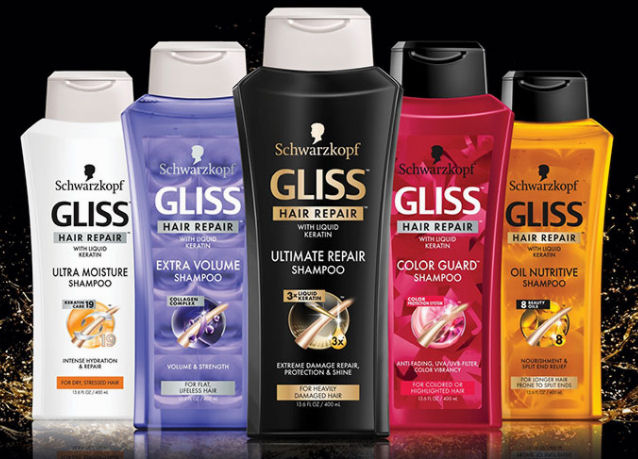 gliss hair care