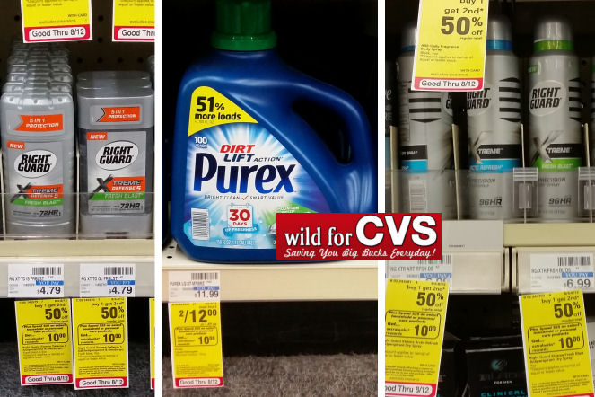 purex and right guard deals