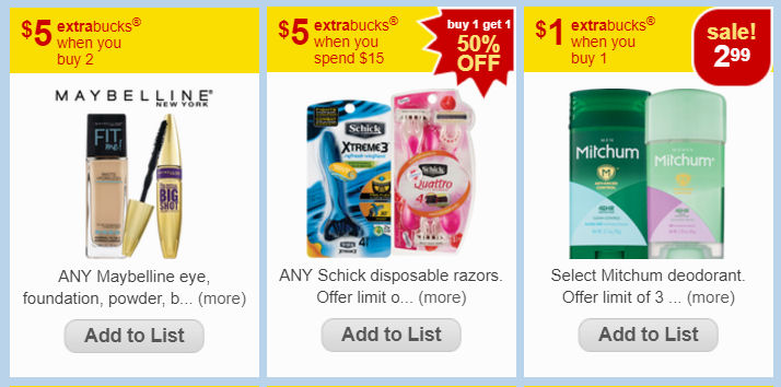 312540b14a6 Here are the match ups for the CVS Weekly Ad starting Sunday, 9/10. The ECB  deals are on top. To see the rest of the CVS weekly ad deals and coupons,  just ...