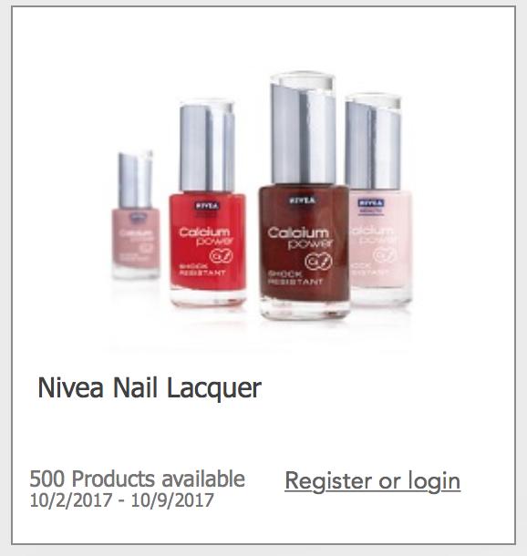 Nivea Nail Lacquer