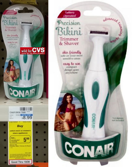 conair bikini trimmer & shaver