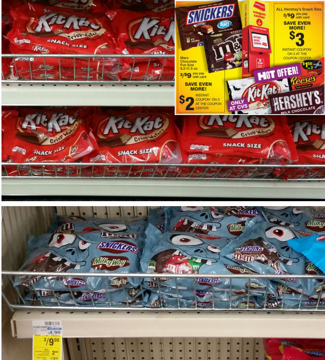 hersheys and mars snack size deal