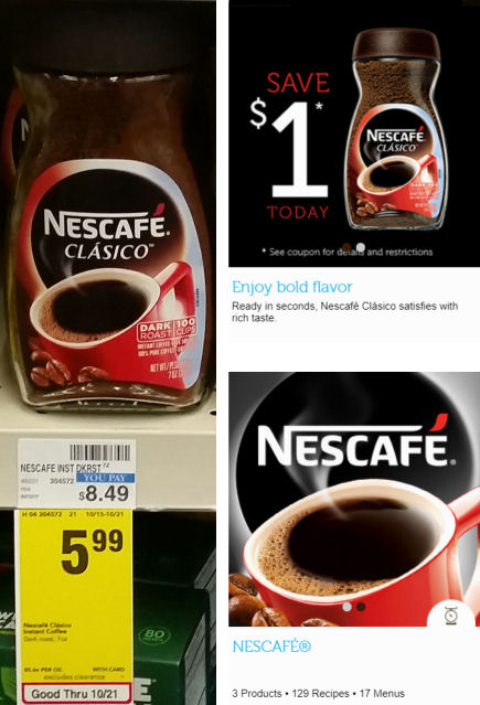 nescafe deals