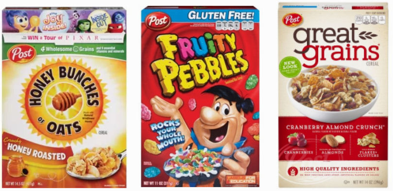 image regarding Post Cereal Printable Coupons named Posting Cereals As Reduced As Absolutely free OR $1.24 Future 7 days!