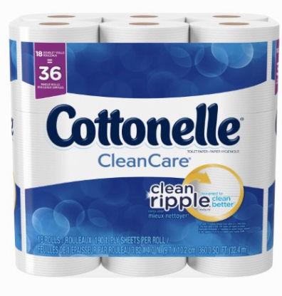 cottonelle 18 double rolls