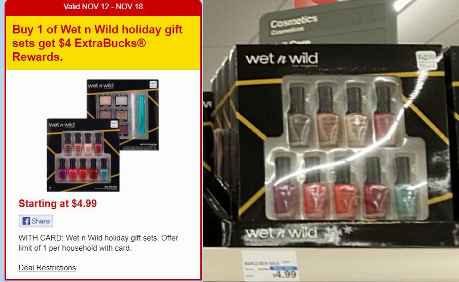 wet n wild gift sets