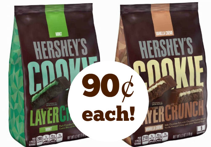 hershey's cookie layer crunch deal