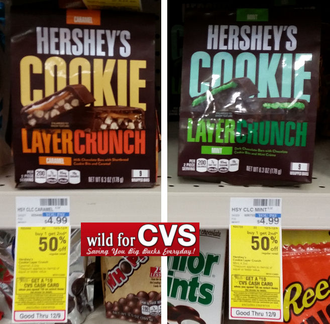 hershey's cookie layer crunch pouch deal