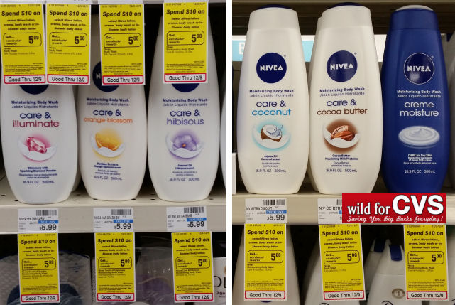 nivea body wash deal