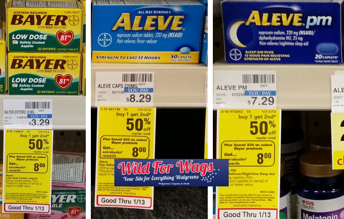 aleve and bayer deals