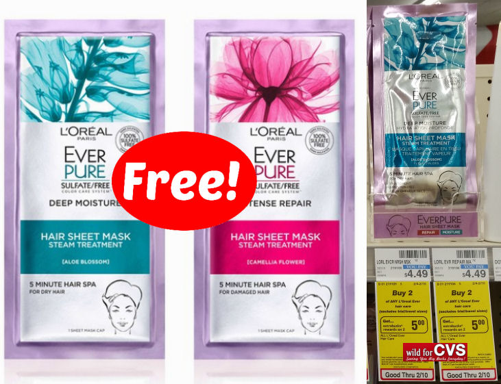 loreal ever pure sheet masks deal