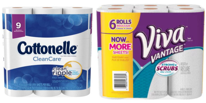 viva and cottonelle coupons