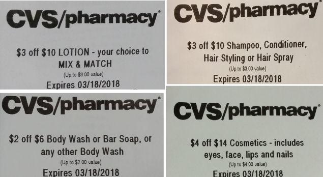 cvs coupon deals