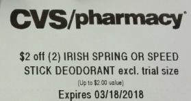 speedstick cvs coupon