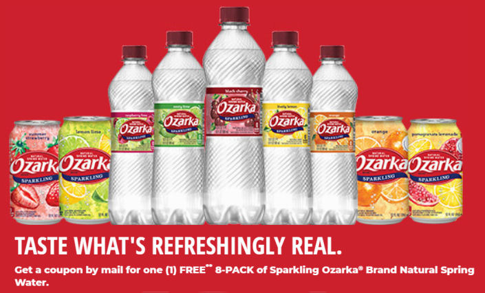 4fa97cd0bf *Free* Ozarka Sparkling Water 8 Pack – Request Now!