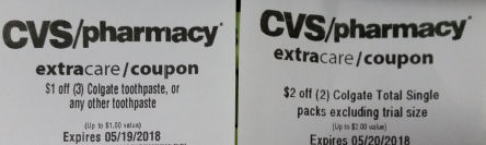 cvs toothpaste coupons