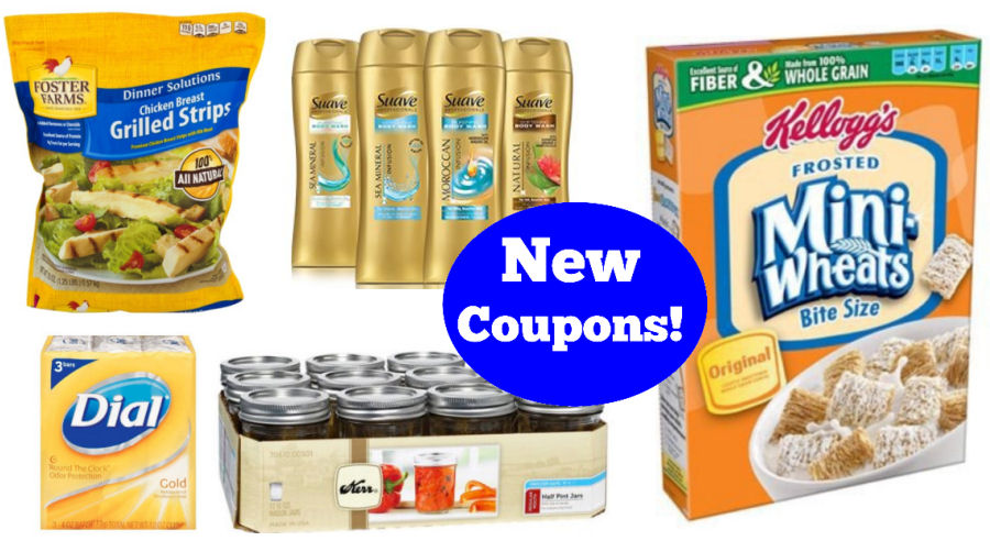 new coupons-