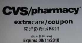 venus cvs coupon