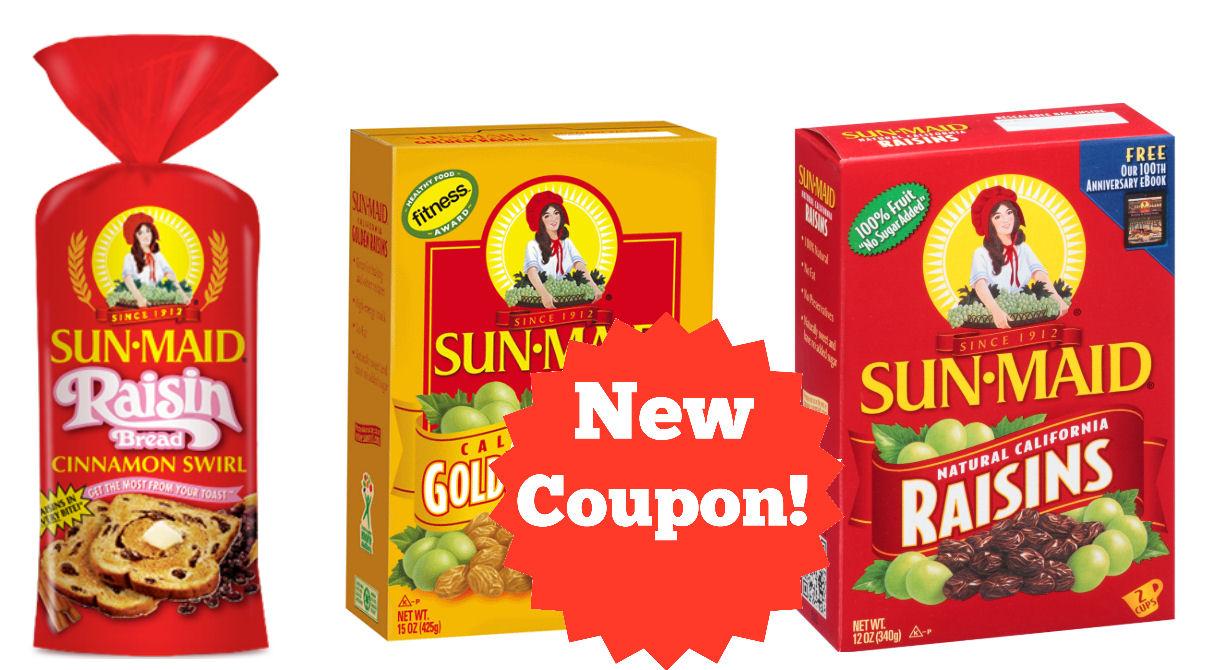sunmaid coupon