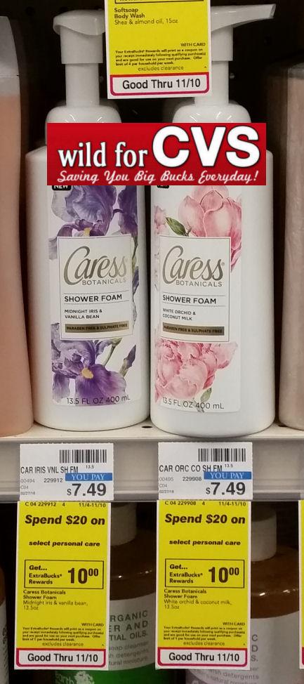 caress deals