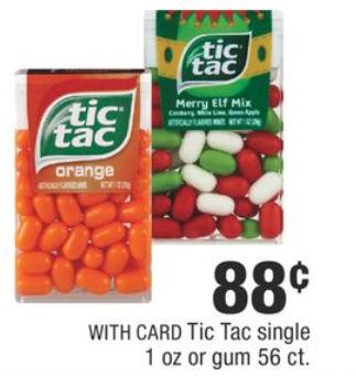 tic tac deal