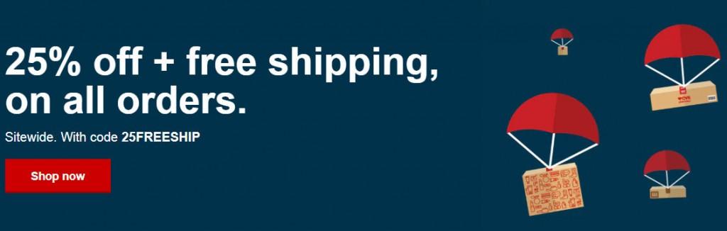 cvs online  25  off  u0026 free shipping