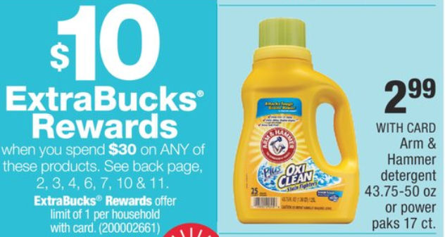 photograph about Arm and Hammer Detergent Coupons Printable named Fresh Arm Hammer Discount coupons \u003d $1.99 Detergent + A Portion of ECB!