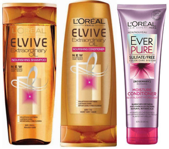 loreal elvive and ever care