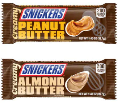 creamy snickers