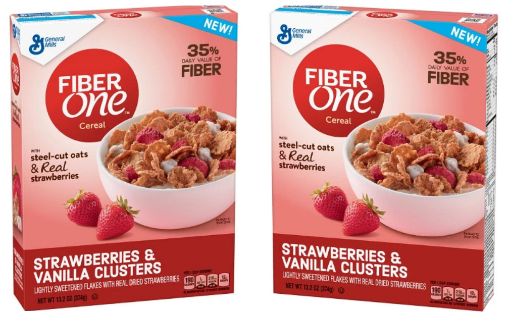 fiber one strawberry cereal coupon