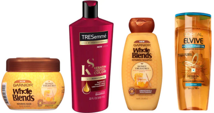 picture relating to Garnier Whole Blends Printable Coupon titled TRESemmé, LOréal Hair Treatment Complete Blends 31¢ Each and every!