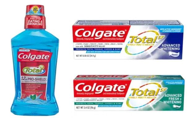 9bbdaa63eae9b $5/3 Colgate Total SF, Optic White, Enamel Health, Essentials or Sensitive  Toothpastes (3oz+) or any Colgate rinse 400mL+