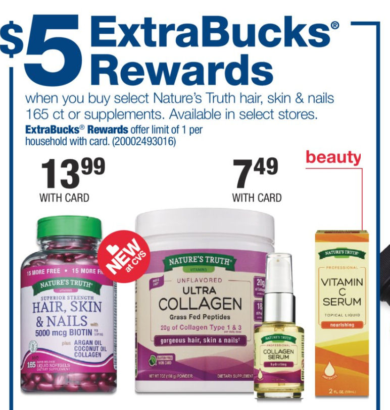 picture regarding Nature's Bounty Coupon Printable $5 named Natures Truth of the matter Extremely Collagen 49¢ Up coming 7 days Print Presently!