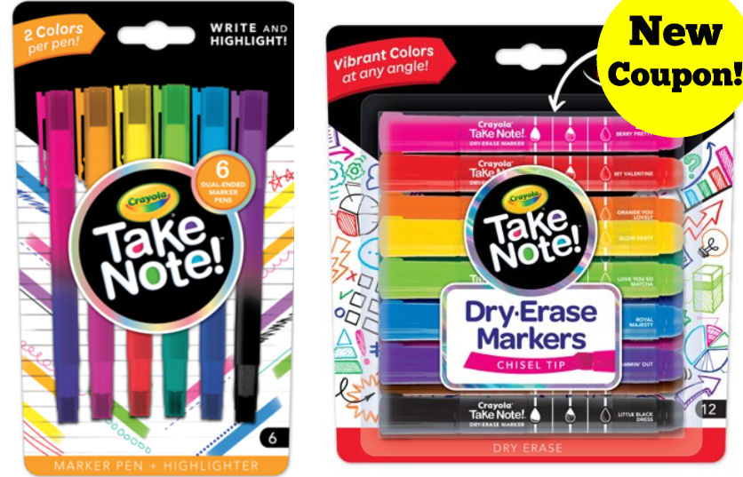 picture about Crayola Coupons Printable referred to as Fresh new Crayola Choose Be aware Coupon Far more!